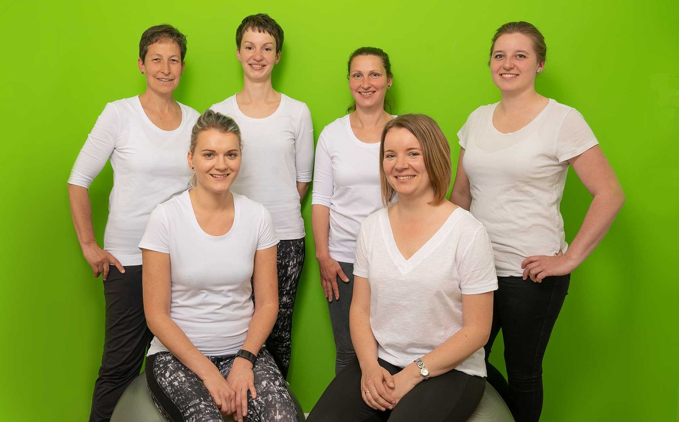 Physiotherapie Katja Teich - Team